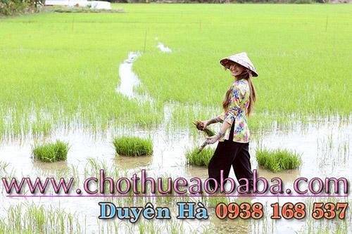 Dịch vụ cho thuê áo bà ba nữ chất lượng tại Sài Gòn